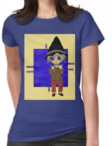 Which Way to Happiness? Womens Fitted T-Shirt