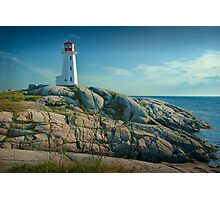 Lighthouse at Peggy's Cove No. 134 Photographic Print