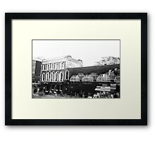 LONDON: VIEWS FROM THE TOP DECK PT 1: 'THE RECURRENCE' Framed Print