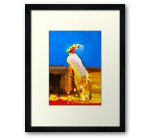 New born Phoenix Framed Print