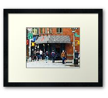 8th Ave. and W 22nd Street, Chelsea Framed Print