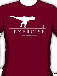 Exercise, some motivation required. T-Shirt