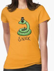Snek Womens Fitted T-Shirt