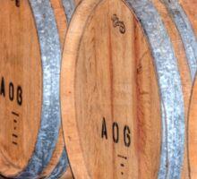 Stored Wine Barrels Sticker