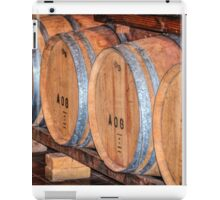 Stored Wine Barrels iPad Case/Skin
