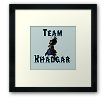Team Khadgar Framed Print