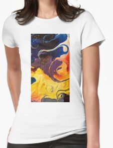 Psychedelica 3 Womens Fitted T-Shirt