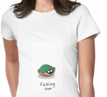 Coming Soon for mothers Womens Fitted T-Shirt