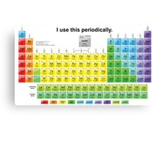 Periodically  Canvas Print