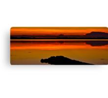 The Rising Sun.(21-5-11) Canvas Print