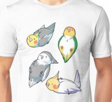 bird stickers Unisex T-Shirt