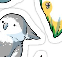 bird stickers Sticker