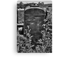 Abandon Tractor Canvas Print