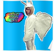 Taylor Swift Unicorn Haters Poster