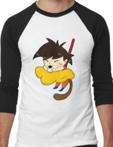 Hungry goku Men's Baseball ¾ T-Shirt