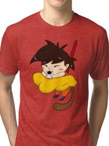 Hungry goku Tri-blend T-Shirt