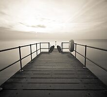 Across the Jetty by David Cooper