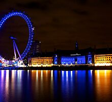 London Eye by Daniel Chang