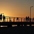 Semaphore Jetty Sunset Seascape by Scott Schrapel