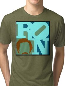 Ron Love (c) (Anchorman) Tri-blend T-Shirt