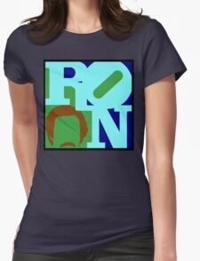 Ron Love (b) (Anchorman) Womens Fitted T-Shirt