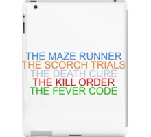 """The Maze Runner"" Series iPad Case/Skin"