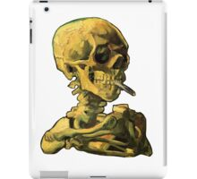 "Vincent Van Gogh - ""Skull of a Skeleton with Burning Cigarette"" iPad Case/Skin"