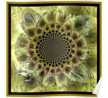 Opaque Sunflower Poster