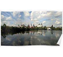 Kremlin Moskovsky park Poster