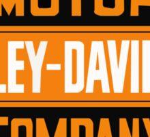 motor harley-davison Sticker