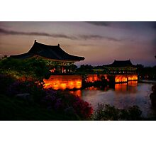 Imhaejeonji Evening Photographic Print