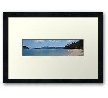 Bedarra Island facing Dunk Island resort Framed Print