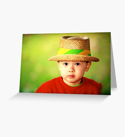 Smart Son Greeting Card