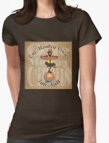 One Monkey Circus Womens Fitted T-Shirt