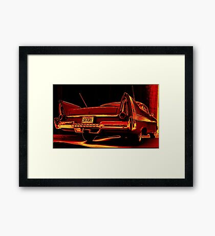 Fury Firelight Framed Print