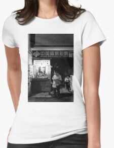 The lucky box and dark hole - Shanghai, China Womens Fitted T-Shirt