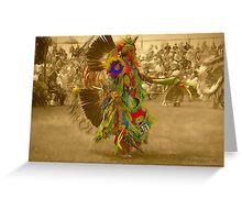 National Championship Pow Wow - Grand Prairie, Tx. Greeting Card