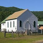 Uniting Church, Brunkerville, NSW by PollyBrown