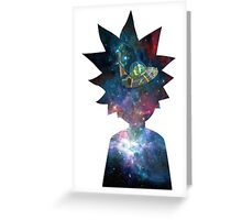 Rick and Morty Space Ship Greeting Card