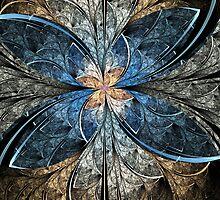 Elliptic Butterfly by Pam Blackstone