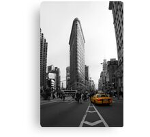 Flatiron Building - NYC Canvas Print