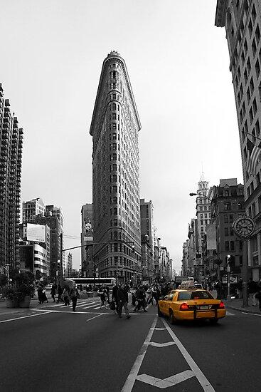 Flatiron Building - NYC by Mark Van Scyoc