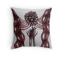 Mage in the Rapture's Heart Throw Pillow