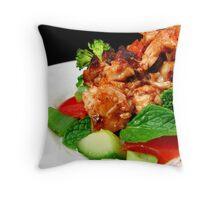 Spicy Vietnamese Chicken Salad Throw Pillow