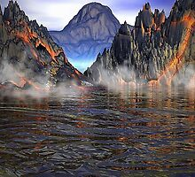 Volcano by Norma Jean Lipert