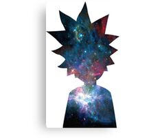 Rick and Morty Galaxy Design Canvas Print