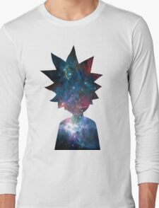 Rick and Morty Galaxy Design Long Sleeve T-Shirt