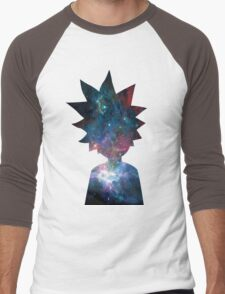 Rick and Morty Galaxy Design Men's Baseball ¾ T-Shirt