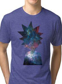 Rick and Morty Galaxy Design Tri-blend T-Shirt