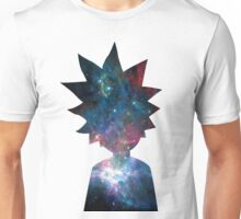 Rick and Morty Galaxy Design Unisex T-Shirt